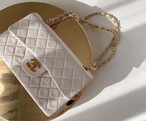 chanel and white purse image