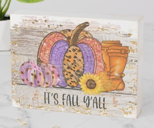 autumn, farmhouse, and wood signs image