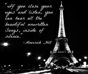 black and white, life, and paris image