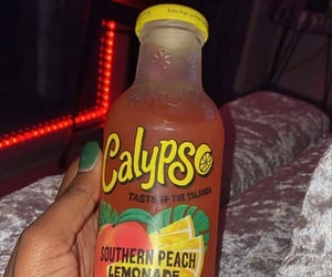 beverages, Calypso, and drinks image