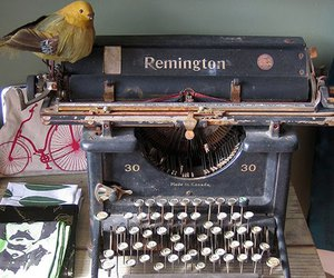 remington, typewriter, and vintage image