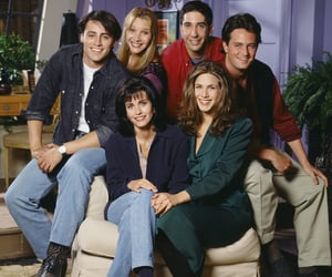 series, tv show, and friends image
