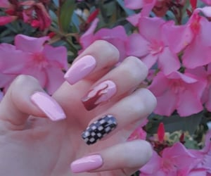 chessboard, flame, and acrylic nails image
