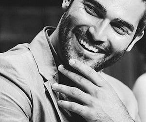 actor, tyler hoechlin, and b&w image