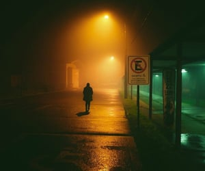 alone, chile, and street image