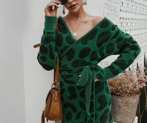 dress, fashion, and fall fashion image