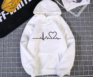 fashion, hoodies, and shopping image