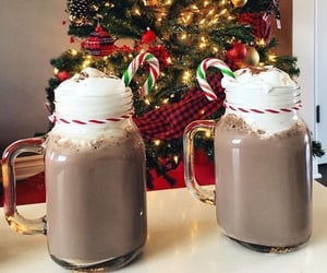 chocolate, christmas, and foody image