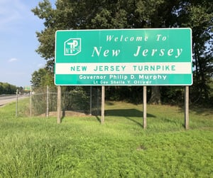 jersey, New Jersey, and sign image