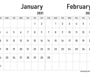 calendar, january february 2021, and february image
