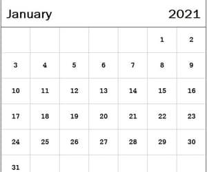 january, january 2021, and 2021 calendar image