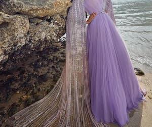vestido de fiesta, beaded prom dress, and crystal prom dresses image