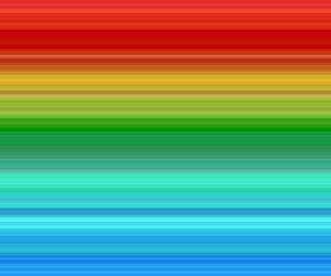 rainbow, arcoiris, and color image