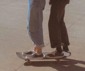 aesthetic, couple, and skate image