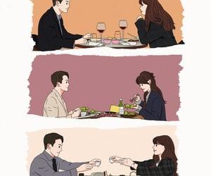 couple, korea, and kdrama image