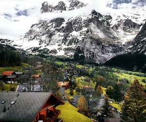 peace of mind, switzerland, and grindelwald image