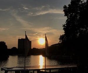 beautiful, berlin, and river image