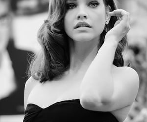 black and white, premiere, and barbara palvin image