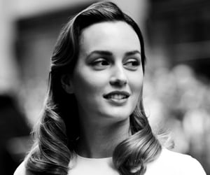 black and white, premiere, and leighton meester image