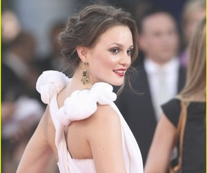 premiere, leighton meester, and white image