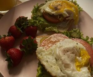 breakfast, brunch, and egg image