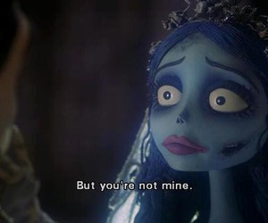 corpse bride, film, and quote image