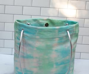 etsy, reusable tote bag, and tie dye gift image