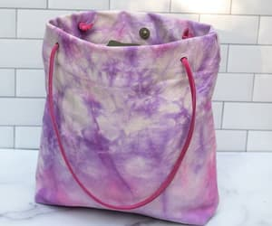 etsy, reusable tote bag, and canvas tote bag image