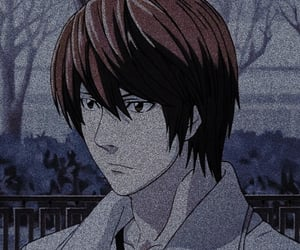 death note, light, and icon image