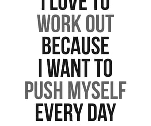 workout, gymaholic, and fitness image