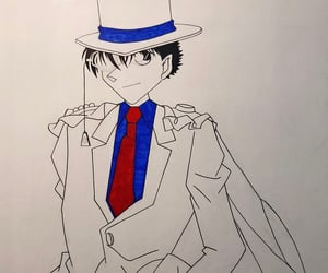 anime, art, and detective conan image