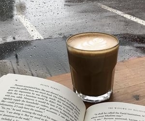 autumn, books, and cafe image