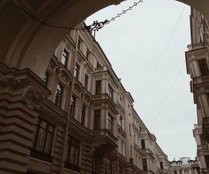 architecture, city, and dark academia image
