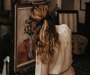 dark vibes, golden aesthetic, and dark academia aesthetics image