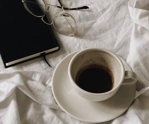 coffee, book, and warm image
