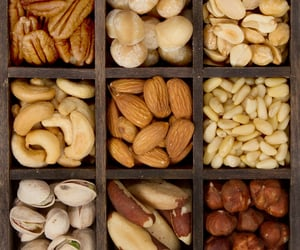 nuts, food, and healthy image