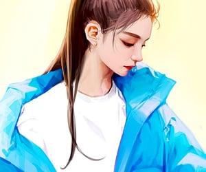 fan art, itzy, and girls image