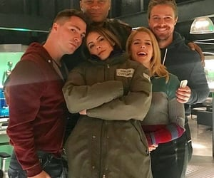 arrow, thea queen, and felicity smoak image