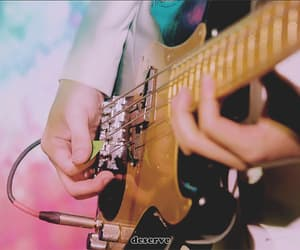 bass guitar, gif, and goldie image