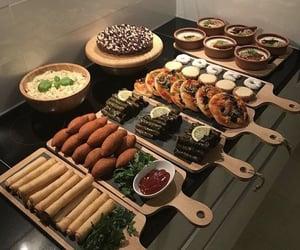 arabic, food, and yummy image