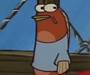 meme, reaction, and spongebob image