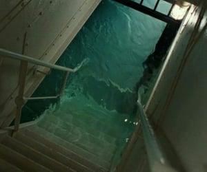 titanic, water, and grunge image