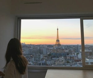 eiffel tower, traveling, and dream life image