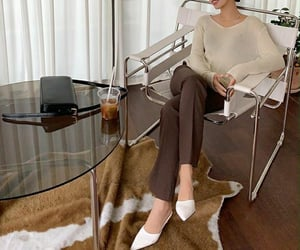 apartment, bag, and beige image