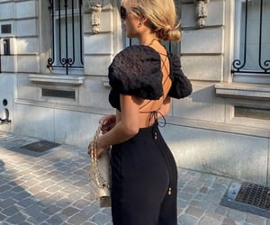 everyday look, puff sleeve, and backless top image