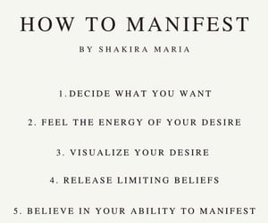law of attraction, manifest, and manifestation image