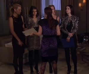 blair waldorf, Serena Van Der Woodsen, and gossip girl image