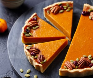Pumpkin Pie, fall food, and fall recipes image
