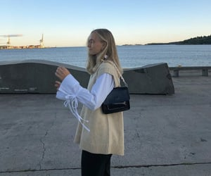 button up shirt, everyday look, and white blouse image