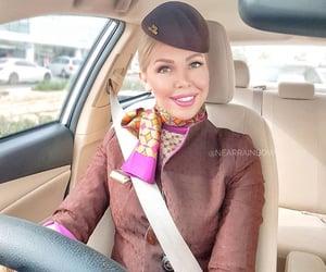 abu dhabi, air hostess, and driving image